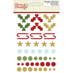 Classic Christmas Enamel Dots & Shapes - Simple Stories