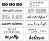 Classic Christmas Roller Stamp - Simple Stories