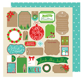 Tags Paper - All Wrapped Up - American Crafts