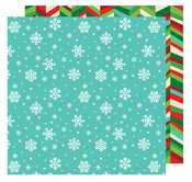 Snowflakes Paper - All Wrapped Up - American Crafts