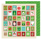 Holiday Greetings Paper - All Wrapped Up - American Crafts