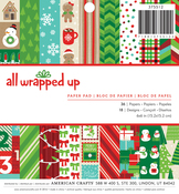 All Wrapped Up 6 x 6 Paper Pad - American Crafts