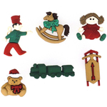 Christmas Toys - Dress It Up Holiday Embellishments
