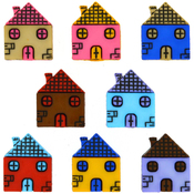 Row Homes - Dress It Up Embellishments