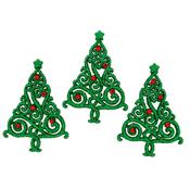 Christmas Elegance - Dress It Up Holiday Embellishments