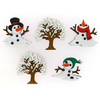 Snow Don't Go - Dress It Up Holiday Embellishments