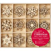 Snowflake Wooden Shapes