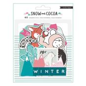 Ephemera Pack - Snow & Cocoa - Crate Paper