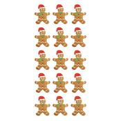 Gingerbread Paper House Puffy Stickers