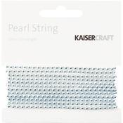 Silver Pearl String - KaiserCraft