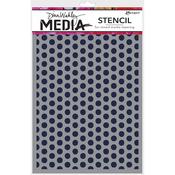 "Spaced Dots - Dina Wakley Media Stencils 9""X6"""