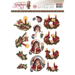 Christmas Candles - Find It Trading Amy Design Punchout Sheet