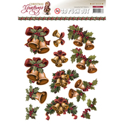 Christmas Bells - Find It Trading Amy Design Punchout Sheet