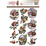 Christmas Animals - Find It Trading Amy Design Punchout Sheet