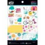 """Bright & Brave Clear Cuts - 6""""X8"""" Pad"""