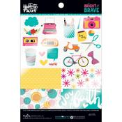 """Bright & Brave Clear Cuts - Illustrated Faith Clear Cuts Pad 6""""X8"""""""