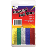 Assorted - Foil Star Stickers 440/Pkg