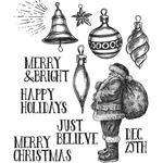 Festive Sketch Stamps - Tim Holtz