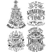 Doodle Greetings #2 Stamps - Tim Holtz