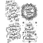 Doodle Greetings #1 Stamps - Tim Holtz