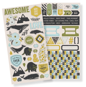 High Five Cardstock Stickers - WRMK