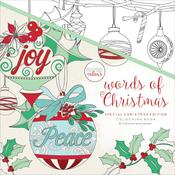 Words Of Christmas KaiserColour Perfect Bound Coloring Book