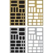 Labels Idea-Ology Metallic Stickers - Tim Holtz