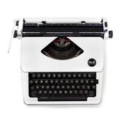 White Typecast Typewriter - WRMK