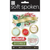 Merriest Soft Spoken Themed Embellishments
