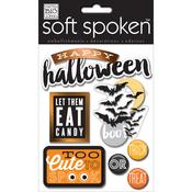 All Hallows Eve Foiled Soft Spoken Themed Embellishments