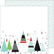 Merry And Bright Oh Joy Double-Sided Paper - Pinkfresh