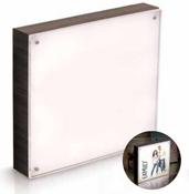 Ebony 8 x 8 Wood Frame - Photolights