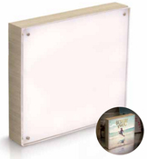 Natural 8 x 8 Wood Frame - Photolights