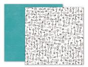 Moonstruck Paper 3 - Pink Paislee