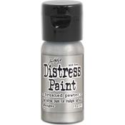 Brushed Pewter - Distress Paint Flip Top 1oz