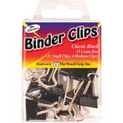 Black - Binder Clips 15/Pkg