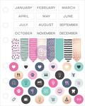My Prima Planner Cardstock Stickers