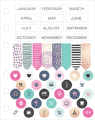 My Prima Planner Cardstock Stickers