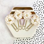 Gold Nougat My Prima Planner Flowers