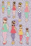 June Planner Stickers - Julie Nutting - My Prima Planner