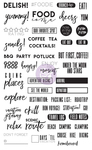 Food & Travel Clear Stamps - Frank Garcia - My Prima Planner