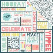 Hooray 12x12 Paper - Party Time - KaiserCraft