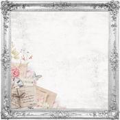 Ornate Frames Die Cut Cardstock Paper - PS I Love You - KaiserCraft