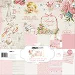 Peek-a-Boo Girl 12x12 Paper Pack - KaiserCraft