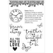 PS I Love You 6x4 Stamp - KaiserCraft
