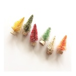 "2"" Bottle Brush Trees - Merry & Bright - Fancy Pants"