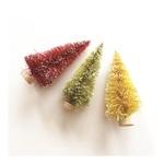"3"" Bottle Brush Trees - Merry & Bright - Fancy Pants"