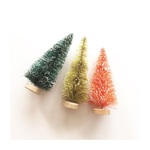"4"" Bottle Brush Trees - Merry & Bright - Fancy Pants"