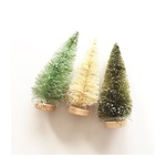 "5"" Bottle Brush Trees - Merry & Bright - Fancy Pants"