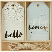 Hip, Hip, Hooray Gift Tags - KaiserCraft